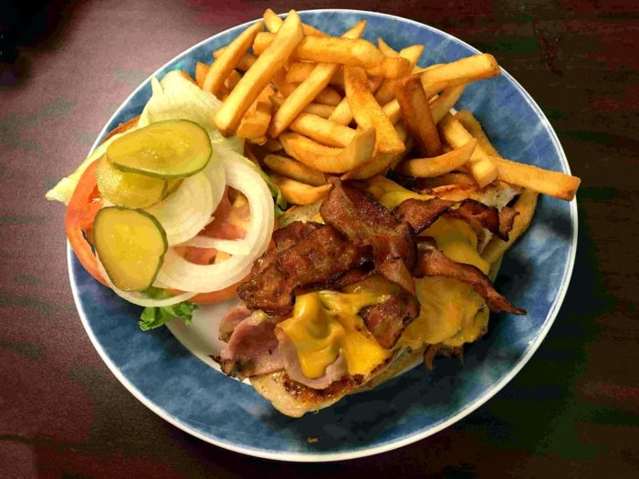 super chicken-lunch-sandwich