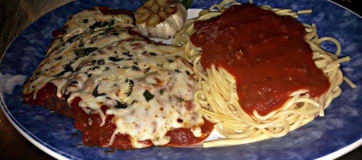 eggplant Parmesan-