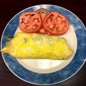 veggie-omelet-diet-low carb